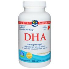 Nordic Naturals DHA Strawberry 500 MG 180 Soft Gels