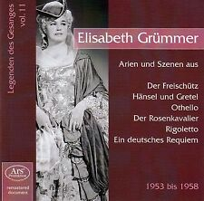 LEGENDEN DES GESANGS VOL. 11 - ELISABETH GRÜMMER / CD - NEU