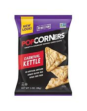 POPCORNERS Carnival Kettle Popped Corn Chips Gluten Free Non-GM... Free Shipping