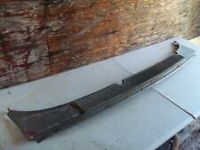 USED 64 FORD GALAXIE FRONT WINDSHIELD LOWER COWL GRILL FILLER PANEL SQUIRE 500