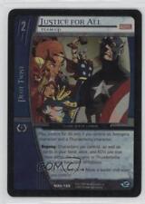 2005 VS System Marvel Avengers #MAV-188 Justice for All Gaming Card q0l