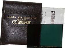 NIB Singh-Ray Fluorescent Flash Filter: for Your Flash Head, 3 x 1-7/8 Inches