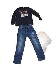 Zara  Boys T Shirt & Jeans Age 8