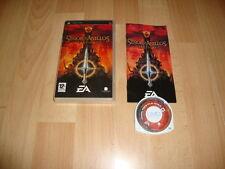 EL SEÑOR DE LOS ANILLOS TACTICAS RPG DE EA GAMES PARA LA SONY PSP USADO COMPLETO