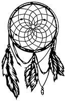 DREAM CATCHER VINYL DECAL WINDOW LAPTOP WALL DECOR CAR BUMPER STICKER SYMBOL