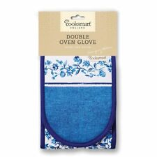 Secret Garden 100 Cotton Double Oven Glove Pot Holder Kitchen Cooksmart