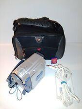 JVC MINI DV DIGITAL VIDEO CAMERA CAMCORDER GR-DX75U w/ BATTERY - BAG - SD - AC