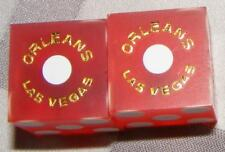 The Orleans Hotel and Casino Playing Dice - Used - Red - Las Vegas