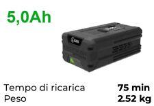 Batteria Greenworks 82v 5Ah compatibile Cramer