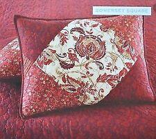 100% Cotton Martha Stewart Collection Somerset Square Standard Sham 21 x 27 NEW