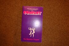 """COMPANY"" PLAYBILL 1972 HER MAJESTYS THEATRE LONDON"