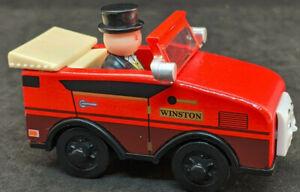 Thomas & friends: Sir Winston. CAR Top Hat Wooden Magnets train  2012 GULLANE