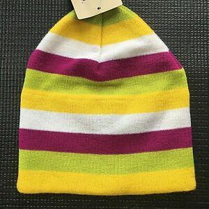 Satila girls hat winter wool blend striped