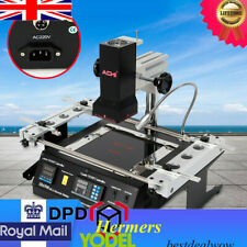IR6500 Infrared BGA Rework Station Hot Air Heating Soldering Reballing Repair