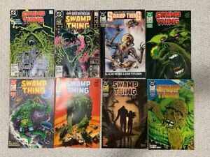 SWAMP THING AWESOME LOT OF 8 COMIC BOOKS     #67 HELLBLAZER    AMAZING CONDITION