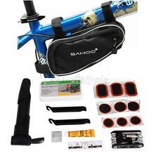 14 in 1 Multi-function Cycling Bicycle Cycle Bike Repair Tool Kit Set + Bag Pump