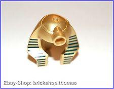 Lego Helm Pharao - 90462pb01 - Minifig Headgear Mummy metallic gold - NEU/NEW