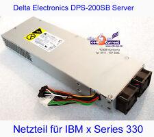 DELTA ELECTRONICS DPS-200SB SERVER NETZTEIL 200W IBM xSERIES 330 24P6841 -B01