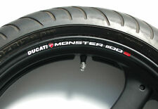 DUCATI MONSTER 1100S WHEEL RIM STICKERS - s4 s4r s2r s