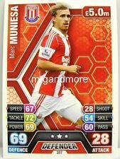 Match coronó 2013/14 Premier League - #257 marc muniesa-Stoke City