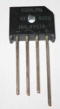 4 Amp 600 Volt Low Profile Bridge Rectifier - 600V 4A Inline Compact Rectifier