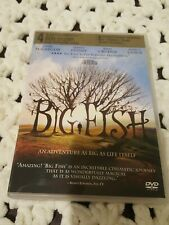 2004 Big Fish Dvd -Widescreen -Regn 1 -Ewan McGregor -Jessica Lange-*Read Below