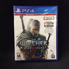 The Witcher 3 Wild Hunt (PlayStation 4) In Stock !! BRAND NEW / Bonus World Map