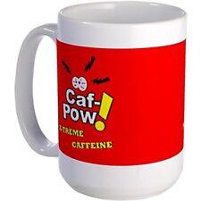 11oz mug Caf-Pow Extreme Caffeine Ceramic Coffee Cup