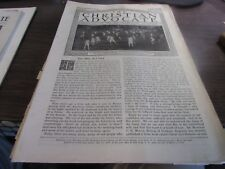 THE CHRISTIAN ADVOCATE - OCTOBER 31ST 1918 - WWI ERA PUBLICATION