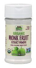 Organic Monk Fruit Extract Now Foods 0.7 oz Powder