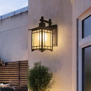 Vintage Outdoor Wall Lamp Exterior Porch Patio Lantern Lighting Light Fixture US
