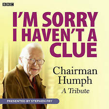 I,M SORRY I HAVEN,T A CLUE-CHAIRMAN HUMPH-1 CD AUDIO BOOK  BRAND NEW