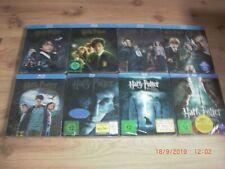 Harry Potter Komplett 1 - 7.2 Blu-Ray Steelbook NEU