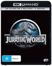 Jurassic World (Blu-ray, 2018, 2-Disc Set)