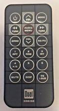 Dual XD6150 Remote control Dual Car stereo remote control