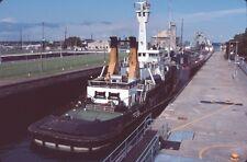 SHIP --- TUG ATLANTIC HICKORY & BARGE SARAH SPENCER --- Original Slide 7 T13-14