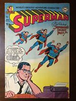 Superman #90 (1954) - Lex Luthor Appearance! - Golden Age! Beautiful copy!