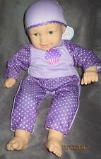 My Sweet Love BABY Light Blonde & Blue Eyes,from CITY TOYS,Cloth & Vinyl Doll 2+