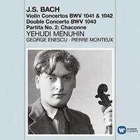 Bach: Violin Concertos - Chaconne - Yehudi Menuhin (NEW CD)