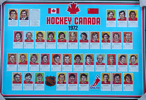 Hockey Canada•1972 Summit Series•Canada vs USSR Russia•NHL Poster 24x36