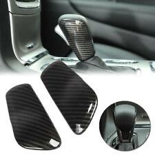 Car Shift Knob cover Parts Accessories For Jeep Grand Cherokee Carbon Fiber