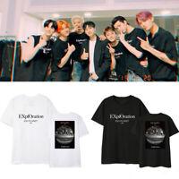 KPOP EXO PLANET #5 - EXplOration Same Fan T-shirt BAEK HYUN CHAN YEOL SE HUN D.O