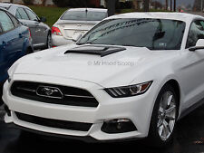 2015, 2016, 2017 Hood Scoop for Ford Mustang By MrHoodScoop UNPAINTED HS003