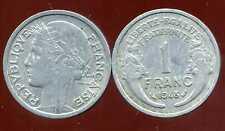 FRANCE FRANCIA  1 franc MORLON ALU 1948