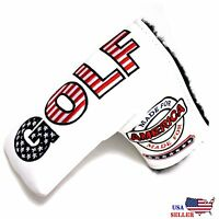 USA GOLF Putter Cover Magnetic For Scotty Cameron Taylormade Odyssey Blade
