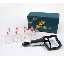 [Ship from USA] Hansol 10PCS Cup Massage Professional Cupping Vacuum Therapy SET