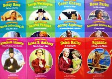 Easy Reader Biographies  Washington,Lincoln,Johnny Appleseed,Helen Keller +12 pk
