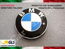 1 COPRIMOZZO FREGIO BMW 68mm originale BORCHIA TAPPO CERCHI IN LEGA HUB CAP