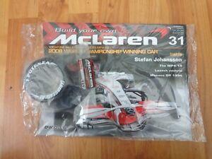 ISSUE 31 DEAGOSTINI 1/8 BUILD YOUR OWN MCLAREN MP4/23 LEWIS HAMILTON 2008 F1 CAR