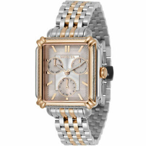 Invicta Women's Watch Wildflower MOP Dial Rose Gold and Silver Bracelet 30858